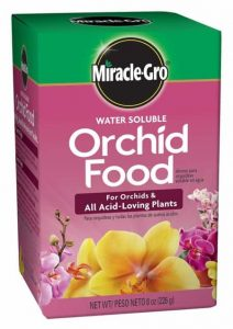 orchid fertilizer miracle gro