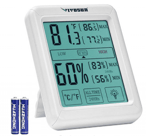 hygrometer to measure humidity