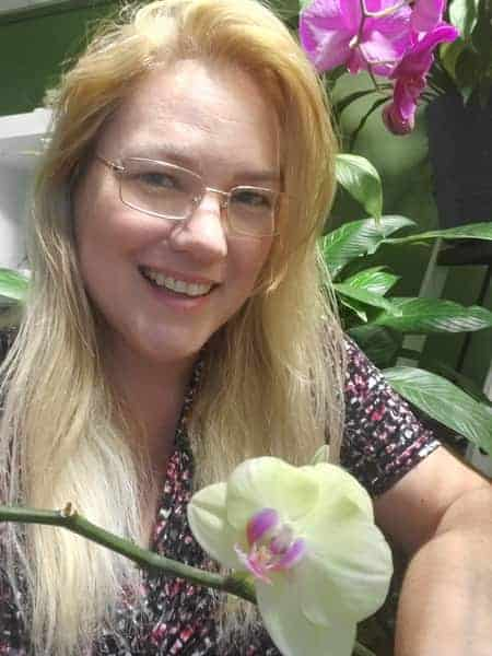 Amanda Matthews and Indoor Orchids
