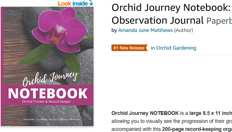 orchid journey notebook 1st
